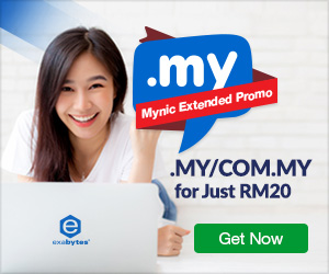 RM20 .MY domain offer